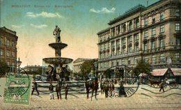 Budapest. Kalvin Ter - Kalvinplatz. Hungria - Hungary