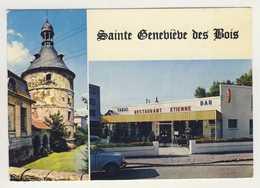 Carte De Sainte Geneviève Des Bois   Tabac Restaurant étienne ( Format 15 X 10,5 Cm )( Recto Verso ) - Sainte Genevieve Des Bois