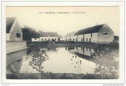 Carte De Chavannes Ferme Du Plaix  ( Mare ? ) ( Recto Verso ) - Unclassified