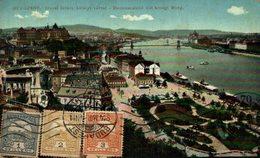 Budapest. Donauansicht Mit Konigl Burg. Hungria - Hungary
