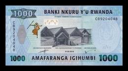 Ruanda Rwanda 1000 Francs 2019 Pick 39b New Date SC UNC - Ruanda-Urundi
