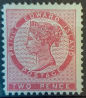 PRINCE EDWARD ISLAND 1862 - MLH - Sc# 5 - 2p - Prinz-Edward-Insel