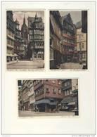 Lot De 3 Cartes De Frankfurt A Main   ( Format C.P.A) ( Recto Verso ) - Frankfurt A. Main