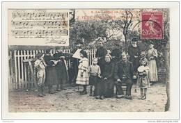 Travail En Sabots Fête D' Automne L' Apothéose ( Musique / Partition  A. Bonnefoi )( Folklore Violon Banjo ?) - France