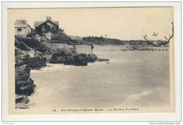 Carte  Entre Pornic Et Sainte Marie Sur Mer La Côte De Noveillard ( Recto Verso ) - France