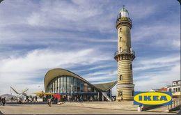 GERMANY Gift-card  IKEA - Warnemünde - Leuchtturm - Gift Cards