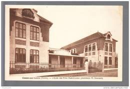 Carte  De Cosne  L' école Des Filles Paul Doumer ( Architecte Boussard ) ( Recto Verso ) - Cosne Cours Sur Loire