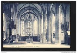 Carte  De Schirmeck  Intérieur De L' église  ( Recto Verso ) - Schirmeck