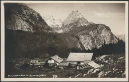 Ehrwalder Alm Mit Sonnenspitze, Tirol, C.1930 - Somweber Foto-AK - Ehrwald