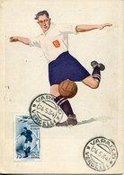 49259 Italia Maximum Postmark First Day !!! 24.5.1934 Of 75c.stamp World Football Champ. Italy 1934 - Fußball-Weltmeisterschaft