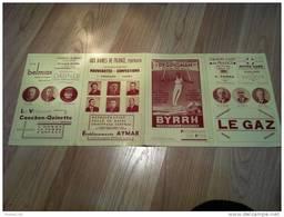 Programme Des Fêtes De La Cinquantenaire De La Roussillonnaise PERPIGNAN 1938 ( + Publicités ) - Programs