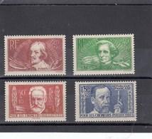 France - 1936 - N° YT 330/33**  Au Profit Des Chômeurs Intellectuels - Nuovi