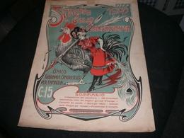 SPARTITO STRENNA DEL GALLO CARICATURISTA 1905 - Spartiti
