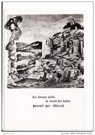 Carte Format 15 X 10,5 Cm D' Allauch Au Temps De La Contrebande Du Tabac Arrestation ( édouard Stel ) ( Recto Verso ) - Allauch