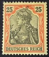 1902 Germania Ohne Wasserzeichen Mi.73*) BPP-geprüft - Deutschland