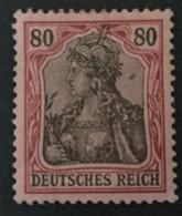 1902 Germania Ohne Wasserzeichen Mi.77*) BPP-geprüft - Deutschland