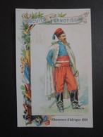 CHROMO  Biscuits Pernot à Dijon.  Militaire. CHASSEURS D' AFRIQUE  En  1859 - Old Paper