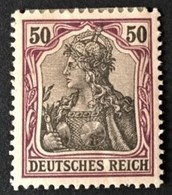 1902 Germania Ohne Wasserzeichen Mi.76*) - Deutschland