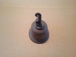 Lot. 1166.  Ancienne Lampe à Huile En Cuivre à Mèche Réglable Par Molette - Luminaires