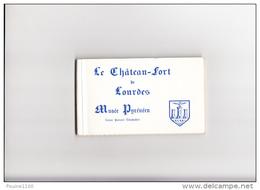 Carnet De 15 Cartes Le Château Fort De LOURDES Musée Pyrénéen   ( Complet Et  En Très Bon état ) - Lourdes