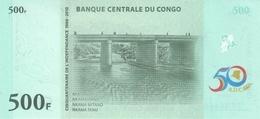 CONGO D.R. P. 100 500 F 2010 UNC - Congo