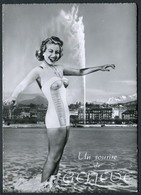 Un Souvenir De Genève - Cachet Expo L'Atome Pour La Paix D'Août 1955 - Voir 2 Scans - GE Genf