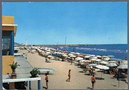 °°° Cartolina - S. Benedetto Del Tronto La Spiaggia Viaggiata °°° - Ascoli Piceno