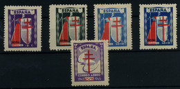 España Nº 970/73. Año 1943 - 1931-50 Neufs