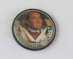 """1 Pin's LUTTE/CATCH/CATCHEUR/WWF - BRUTUS """"THE BARBER"""" BEEFCAKE - Lutte"""