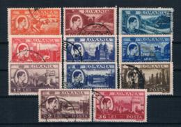 Rumänien 1947 Mi.Nr. 1066/67 Kpl. Satz Gestempelt - 1918-1948 Ferdinand I., Charles II & Michel
