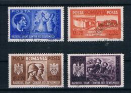 Rumänien 1941 Mi.Nr. 712/15 Kpl. Satz Gestempelt - 1918-1948 Ferdinand I., Charles II & Michel