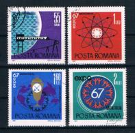 Rumänien 1967 Mi.Nr. 2635/38 Kpl. Satz Gestempelt - Oblitérés