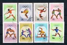 Rumänien 1968 Olympia Mi.Nr. 2697/704 Kpl. Satz Gestempelt - Oblitérés