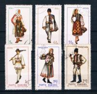 Rumänien 1969 Trachten Mi.Nr. 2739/44 Kpl. Satz Gestempelt - 1948-.... Republiken