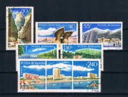 Rumänien 1971 Mi.Nr. 2921/26 Kpl. Satz Gestempelt - 1948-.... Républiques