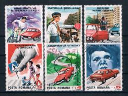 Rumänien 1987 Autoverkehr Mi.Nr. 4411/16 Kpl. Satz Gestempelt - Usado