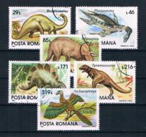 Rumänien 1993 Dinos Mi.Nr. 4911/16 Kpl. Satz Gestempelt - 1948-.... Repúblicas