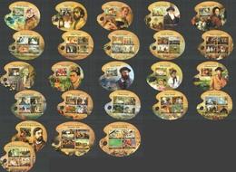 ST2701-ST2713 NIGER 2014 ART FAMOUS PEOPLE GREAT PAINTERS 13KB+11BL MNH - Art