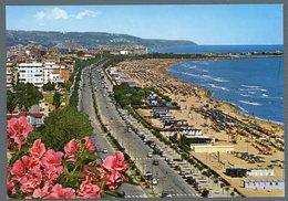 °°° Cartolina - S. Benedetto Del Tronto Lungomare Trieste Viaggiata °°° - Ascoli Piceno