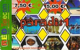 Carte Prépayée - RED TELECOM PARADIS 1 - Francia