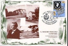 49271 Italia, Special Postmark 2003 San Mauro Pascoli, Mostra Fotografica Giovanni Pascoli - Ecrivains