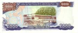 LAOS P. 33b 2000 K 2003 UNC - Laos