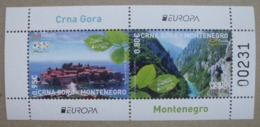 Montenegro  BL    Europa  Cept    Besuchen Sie Europa  2012  ** - Europa-CEPT