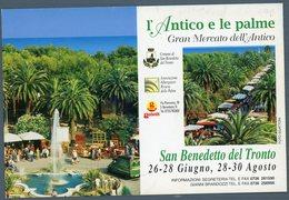 °°° Cartolina - S. Benedetto Del Tronto L'antico E Le Palme Nuova °°° - Ascoli Piceno