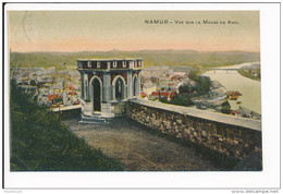 Carte De NAMUR  Vue Sur La Meuse En Aval   ( Recto Verso ) - Namen