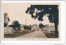 Carte De  SAINT DENIS DE L' HOTEL  Route D' Orléans     ( Recto Verso ) - Andere Gemeenten