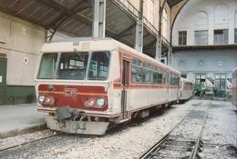 Nice (06) 19/11/1991 - Chemins De Fer De La Provence - Gare Du Sud - Autorail CFD N°X306 - Ferrocarril - Estación