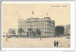 Carte De NAPLES NAPOLI  Grand Hôtel ( Recto Verso ) - Napoli