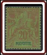 Mayotte - N° 07 (YT) N° 7 (AM) Neuf *. - Mayotte (1892-2011)