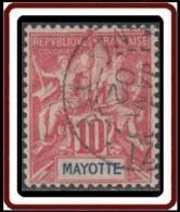 Mayotte - N° 15 (YT) N° 15 (AM) Oblitéré. - Mayotte (1892-2011)